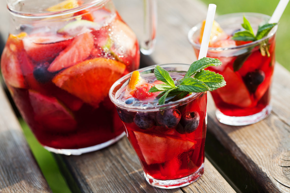 Non-Alcoholic Fruit Punch