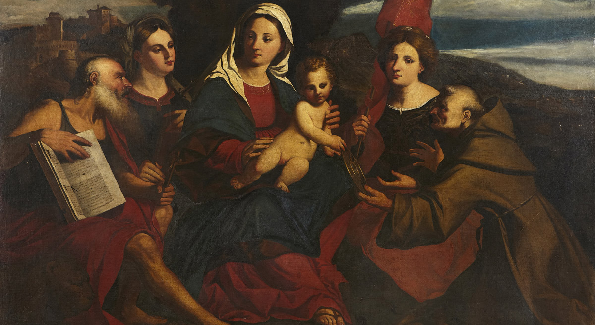 Painting of the Madonna