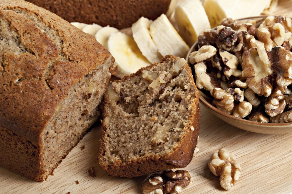 Low GI Banana Loaf